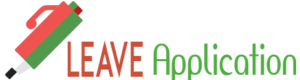 leave application logo