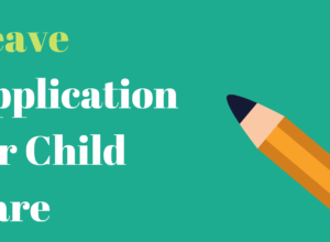 Leave Application for Child Care